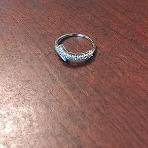 10kt diamond band ring